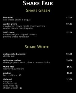 Peanuts Share Green & White
